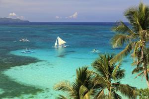 Philippines, Visayas, Boracay Island, Diniwid Beach by Michele Falzone