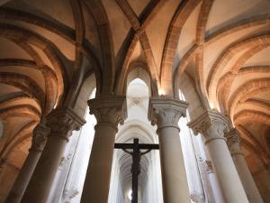 Santa Maria De Alcobaca Monastery, Alcobaca, Estremadura, Portugal by Michele Falzone