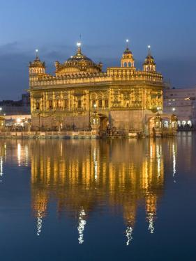 Sikh Golden Temple of Amritsar, Punjab, India by Michele Falzone