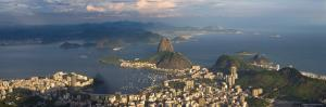Sugar Loaf and Rio de Janeiro, Brazil by Michele Falzone