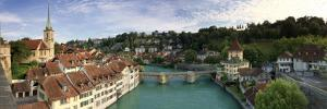 Switzerland, Bern, Old Town and Aare River by Michele Falzone