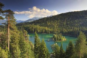 Switzerland, Graubunden, Flims, Lake Cauma (Caumasee) by Michele Falzone