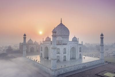 Taj Mahal Mist