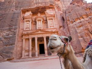 The Treasury, Petra, Jordan by Michele Falzone