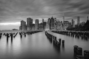 Usa, New York, New York City, Lower Manhattan Skyline by Michele Falzone