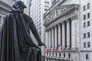 Usa, New York, New York City, Lower Manhattan, Wall Street by Michele Falzone