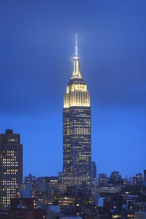 Usa, New York, New York City, Manhattan, Empire State Building by Michele Falzone