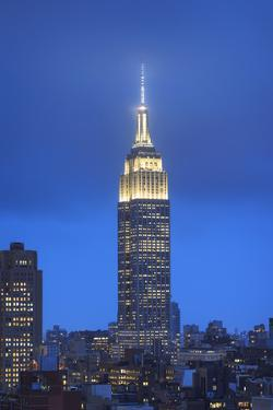 Usa, New York, New York City, Manhattan, Empire State Building by Michele Falzone