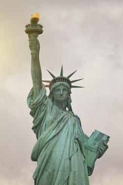 Usa, New York, New York City, Statue of Liberty National Monument by Michele Falzone