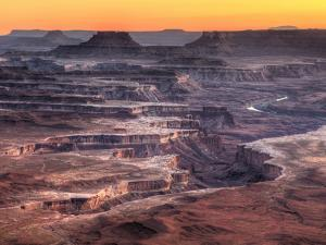 USA, Utah, Canyonlands National Park, Island in the Sky District, Grand View Point by Michele Falzone
