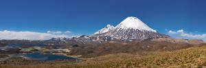 Volcan Parinacota, Lauca National Park, Tarapaca Region, Northern Chile by Michele Falzone