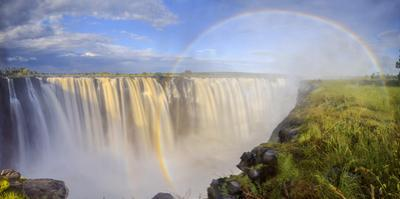 Zimbabwe, Victoria Falls, Victoria Falls National Park during rainy season (UNESCO Site) by Michele Falzone