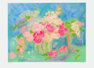 Bouquet De Roses I by Michèle Gour