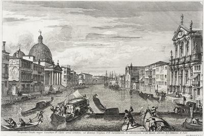 The Grand Canal Between San Simone Piccolo and Santa Chiara, c.1740-41