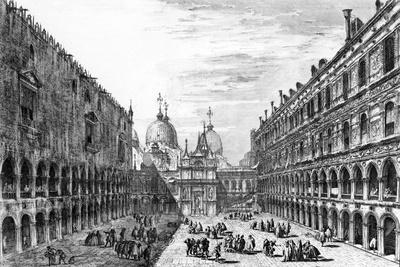 View of San Marco from the Palazzo Ducale, Venice, 18th Century