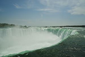 Canada, Ontario. Niagara Falls, Horseshoe Falls by Michele Molinari