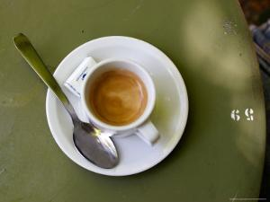 Coffee Cup, Luxemburg Gardens, Paris, France by Michele Molinari
