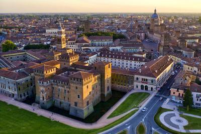 Italy, Mantua, St. George Castle and Palazzo Ducale