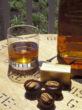 Labrot and Graham Distillery, Bourbon and Pecan Chocolate, Kentucky, USA