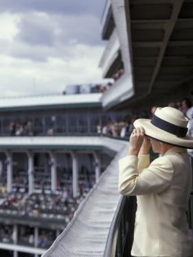 Lady's Hats, Derby Day at Churchill Downs Race Track, Louisville, Kentucky, USA by Michele Molinari