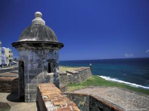Sentry Box at San Cristobal Fort, El Morro, San Juan, Puerto Rico by Michele Molinari