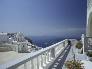 Thira and the Caldera, Santorini, Cyclades Islands, Greece by Michele Molinari