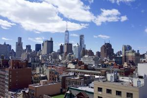 Usa, New York. Downtown, Freedom Tower, One WTC by Michele Molinari