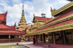 Mandalay Palace, Myanmar. by Michele Niles