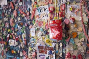 Post Alley Gum Wall near Pike Place in Seattle, Washington State. by Michele Niles