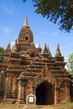 Temple in Bagan, Myanmar. by Michele Niles