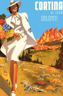 Cortina, Italy - Cortina d'Ampezzo - Elevation 1224 Meters - Dolomiti (Dolomite Mountains) by Michele Ortino