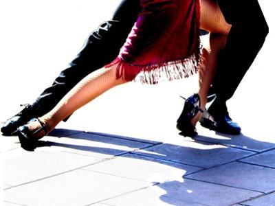 Blue Tango by Michele Roohani
