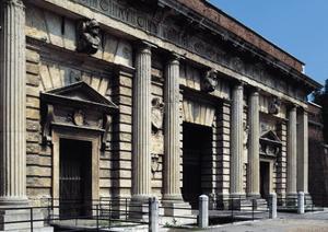 Glimpse of Exterior Facade of Porta Palio, Ca 1550-1560 by Michele Sanmicheli
