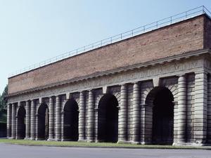 Inner Facade of Porta Palio, Ca 1550-1560 by Michele Sanmicheli