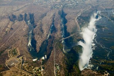 Aerial of Victoria Falls by Michele Westmorland