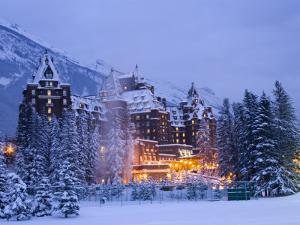 Banff Springs Hotel, Banff, Alberta by Michele Westmorland
