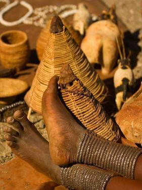 Body Jewelry of the Himba Tribe, Skeleton Coast, Namibia by Michele Westmorland