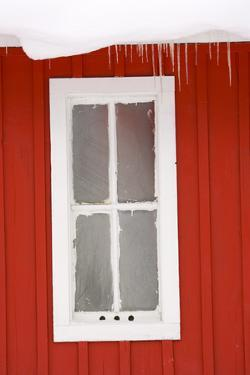 Canada, Banff, window detail. by Michele Westmorland