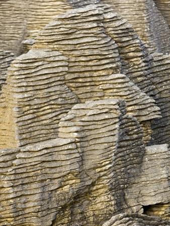 Pancake Rocks on South Island by Michele Westmorland