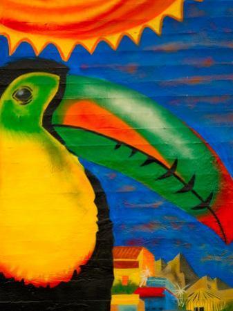 Wall Mural, Seattle, Washington, USA by Michele Westmorland