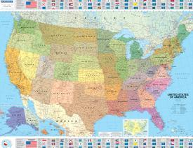 Affordable Maps of the United States Posters for sale at AllPosters.com