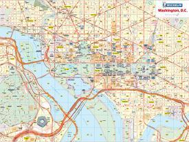 Affordable Maps of Washington D.C. Posters for sale at AllPosters.com