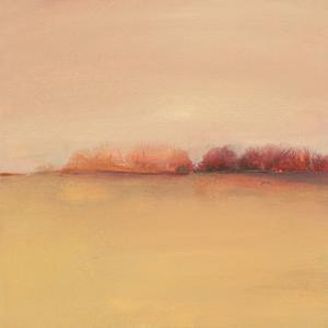 Distant Red Trees by Michelle Abrams