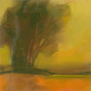Somber Tree at Dusk by Michelle Abrams
