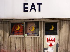 Eat' Sign on Exterior of Moondance Diner, 6th Avenue at Broome Street, Soho by Michelle Bennett