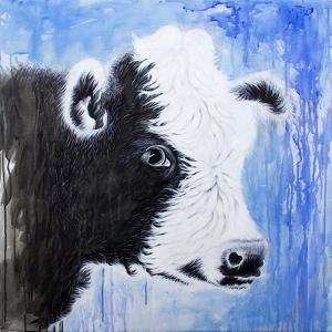 Black and White Cow by Michelle Faber