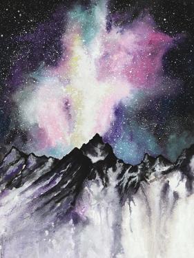 Starruption Galaxy Landscape by Michelle Faber