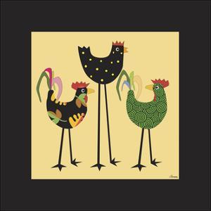 Chickens Incognito 1 by Michelle Glennon