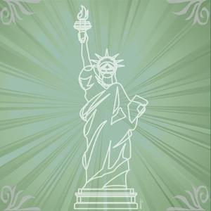 Statue Liberty by Michelle Glennon