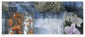 Blue Mosaic I by Michelle Joyce